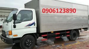 Ưu đãi xe tải 6 tấn 4 Thaco Hyundai HD 650 tại Hải Phòng giá tốt khuyến mại hấp dẫn.