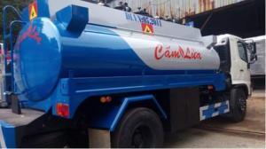 Bán xe bồn chở nhiên liệu