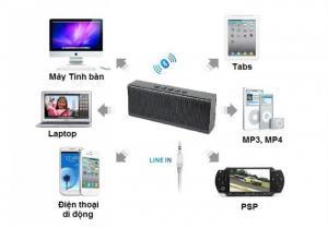 Loa X6 HIFI siêu Bass Bluetooth âm thanh chuẩn HD Phụ kiện cho bạn