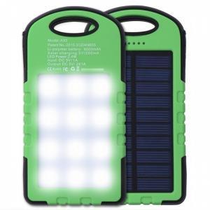 Pin sạc dự phòng năng lượng mặt trời đèn LED...