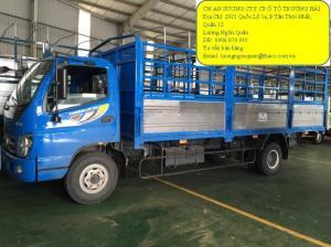 Xe tải 7 tấn thaco olin trường hải giá 433.000.000đ đời 2016 Tp hcm