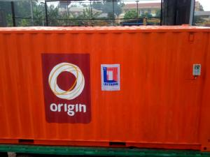 container rong lam kho