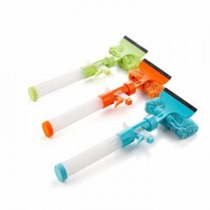 Cây lau kính đa năng tiện dụng tự động xịt nước chất tẩy rửa