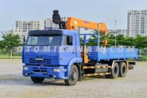 Điểm bán xe Kamaz 14 tấn 65117 tải gắn cẩu giá rẻ tại Tp.HCM, giao xe toàn quốc