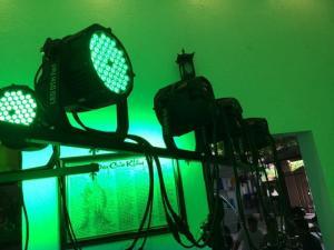 Đèn part led 3W x 54 bóng chống nước cho sự kiện ngoài trời