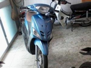 Xe mio màu xanh ngọc zin
