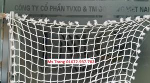 Lưới dù an toàn, lưới nhựa bao chân cầu thang cho mọi nhà, trường học mẫu giáo