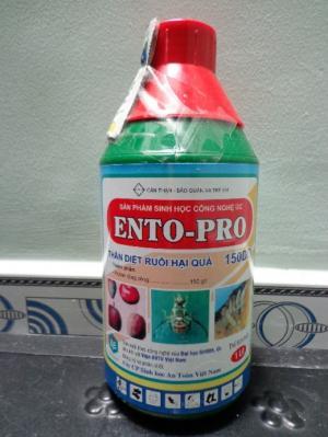 Bán chế phẩm ENTO PRO đặc trị ruồi đục quả