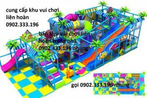 Khu liên hoàn trong nhà, khu vui chơi trẻ em liên hoàn