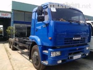 Xe tải Kamaz 53229 14.5 tấn  6x4 thùng dài 6.3m nhập khẩu Nga