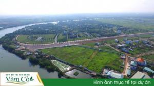 Chính thức mở bán KĐT Ven Sông Vàm Cỏ. Nơi an cư, đầu tư, nghĩ dưỡng  số 1 Phía Tay Nam HCM