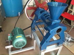 Máy ép dầu tự động, máy ép dầu công nghiệp, đầu máy ép dầu 6YL-68 giá rẻ