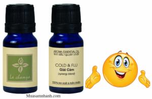 Tinh Dầu La Champa giải cảm Cold & Flu nguyên chất 100%