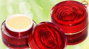 Kem face dưỡng trắng da bông hồng đỏ ngoc...