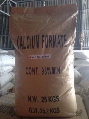 Calcium Formate 98 % bổ sung canxi trong ao