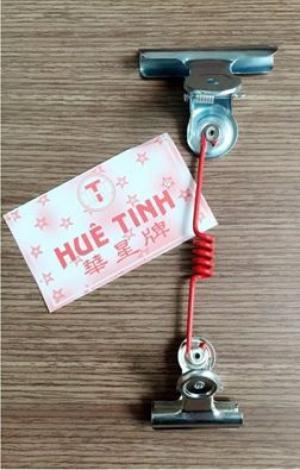 Kẹp wobbler sơn tĩnh điện,bọc nhựa,inox đủ loại giá tốt nhất thị trường