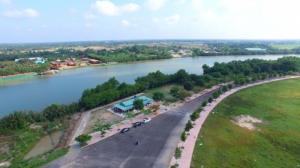 Tiêu điểm sống Tp Tân An. Khu Đô Thị Ven Sông Vàm Cỏ. Nới đầu tư an toàn, chắc thắng