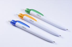 Bút bi kiểu dáng đơn giản in logo công ty quà tặng quảng cáo giá cực rẻ
