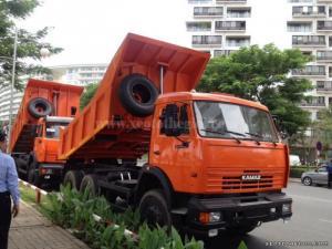 Bán xe tải tự đổ Kamaz 65115 (6x4) 10.3 m3/ 15 tấn chỉ 20% giá trị xe