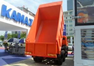 Thông tin Bán xe ben Kamaz 65115 (6x4) 10.3m3 Nhập khẩu 2016