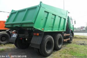 Bán xe ben Kamaz 65115 15 Tấn 10.3m3 (15 tấn) Nhập khẩu 2016 giá 1 tỷ 320 triệu