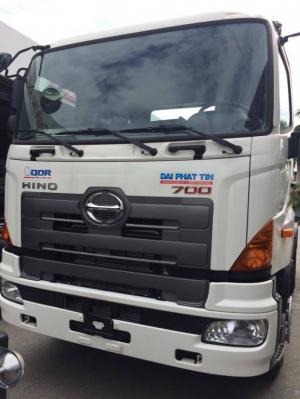 Xe tải Hino FL8JTSL 15 tấn, thùng mui bạt siêu dài, giá hấp dẫn