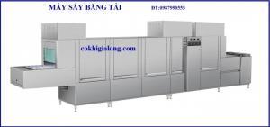 Máy sấy băng tải sản xuất tại công nghệ gia long