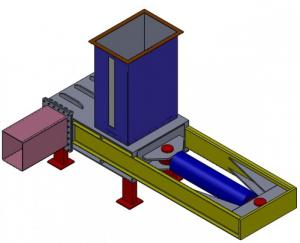 Máy ép củi trấu tại cơ khí gia long