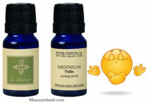 Tinh dầu thiền Meditation La Champa nguyên chất 100% -MSN181056