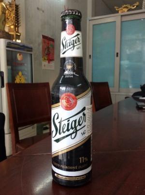 Bia Steiger đen nhập khẩu Tiệp tại Tp.HCM.