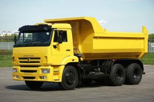 Xe tải tự đổ Kamaz 6520 20m3 (khối) 6x4 thùng dài 7m8 nhập khẩu Nga
