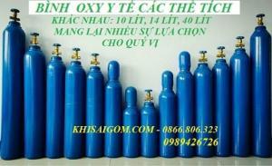 Dịch vụ đổi khí, nạp khí, cho thuê bình oxy thở tại TPHCM