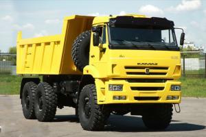 Kamaz Việt Nam phân phối các dòng xe Kamaz nhập khẩu từ Nga, dòng 6520 ben