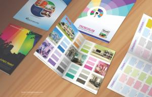 Bảng màu sơn - Quạt màu sơn - Ấn phẩm quảng cáo