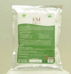 Men vi sinh dùng trong ủ phân vi sinh EM Fert-1 bịch 1kg