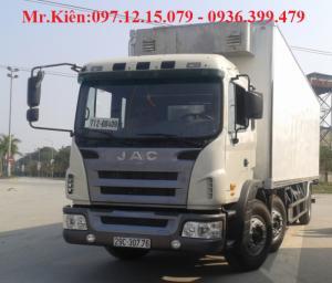 Xe 3 chân JAC 10.5 tấn thùng 9.7 m
