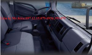 Nội thất xe tải jac 1.99 - 3.45  tấn