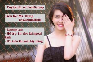 Công Ty Cổ Phần Taxi Group tuyển dụng Lái Xe Taxi Khu Vực Các Sảnh Khách Sạn Lớn - Phố Cổ Hà Nội