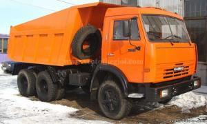 Sở hữu xe ben Kamaz 55111 nhập khẩu từ Nga chỉ với 20% giá trị xe.