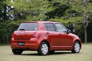 Suzuki Swift màu đỏ
