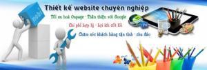 THIẾT KẾ WEBSITE chuyên nghiệp, chuẩn SEO google