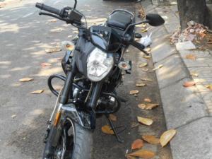 Bán xe Moto CBR.,125cc màu đen dk 2012