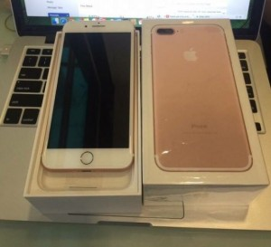 iPhone 7 Plus 128g Rose Gold