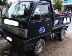 bán xe ben suzuki thùng xe 1m khối,mạnh-bền-ít hao xăng
