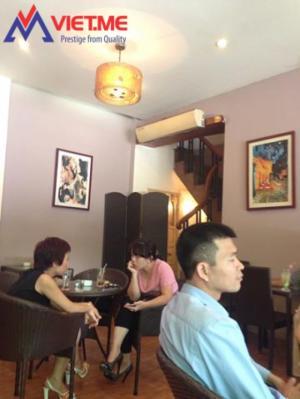 Quạt cắt gió sử dụng tại Quán cà phê
