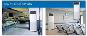 Máy lạnh tủ đứng Daikin - Máy lạnh tủ đứng Daikin FVQ100CVEB/RZR100LVVM inverter gas R410a