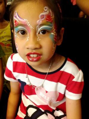 Cung cấp nghệ nhân vẽ face, body painting