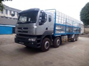 Hotline: 0982.450.336 - Xe tải thùng Chenglong 4 chân 17,9 tấn