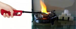 Sử dụng bằng gas tiện dụng, bạn có thể thay khi hết gas.