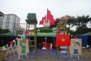 Cho thuê khung trại, nhà trại sinh viên, lắp dựng và trang trí cổng trại tại Hà Nội